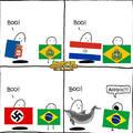 Brasil um pais inutil na guerra