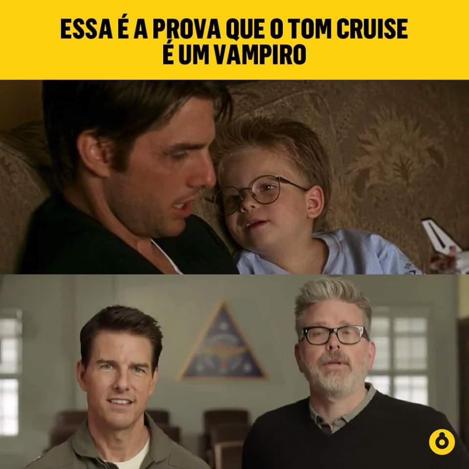 Cientologia rejuvenesce o Tom!!! - meme