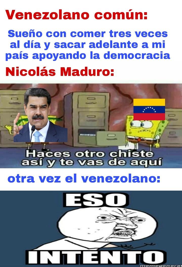 Por una Venezuela libre......... - meme