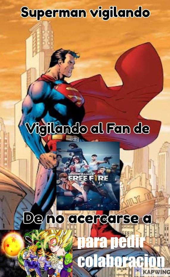 Necesitamos a mas heroes como superman - meme