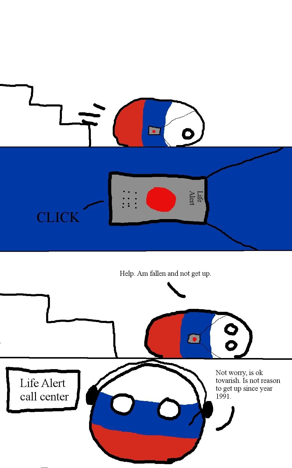 Russian Life Alert - meme