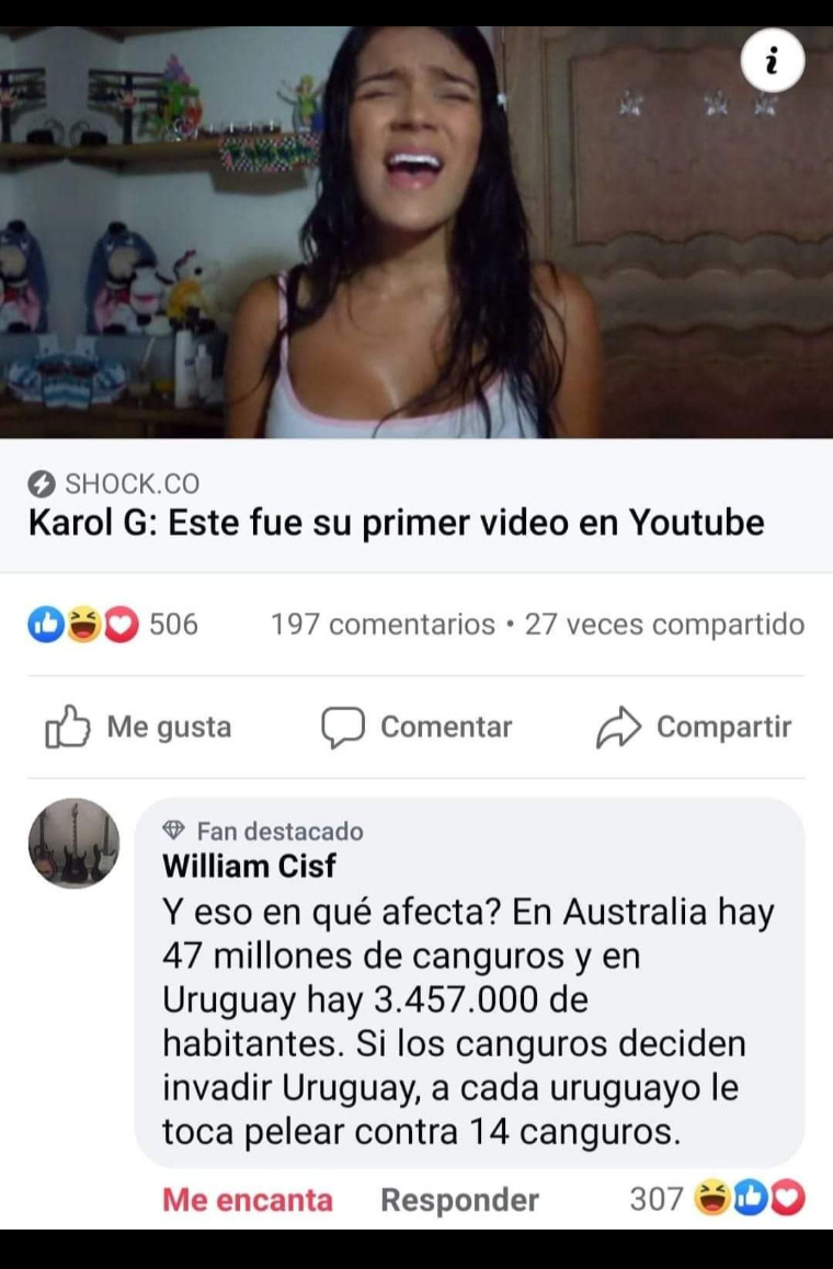 Uruguay te amo - meme