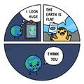 Les platisites font du bien à la Terre