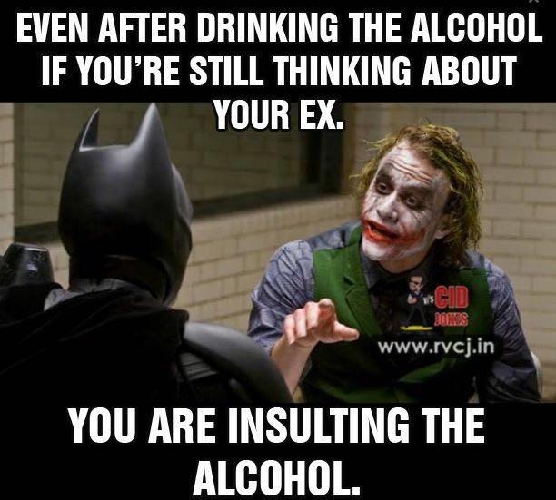 respect alcohol - meme