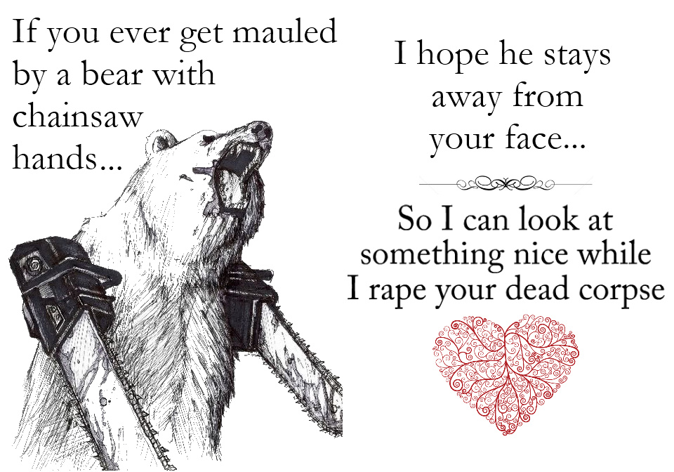 Romantic love card - meme