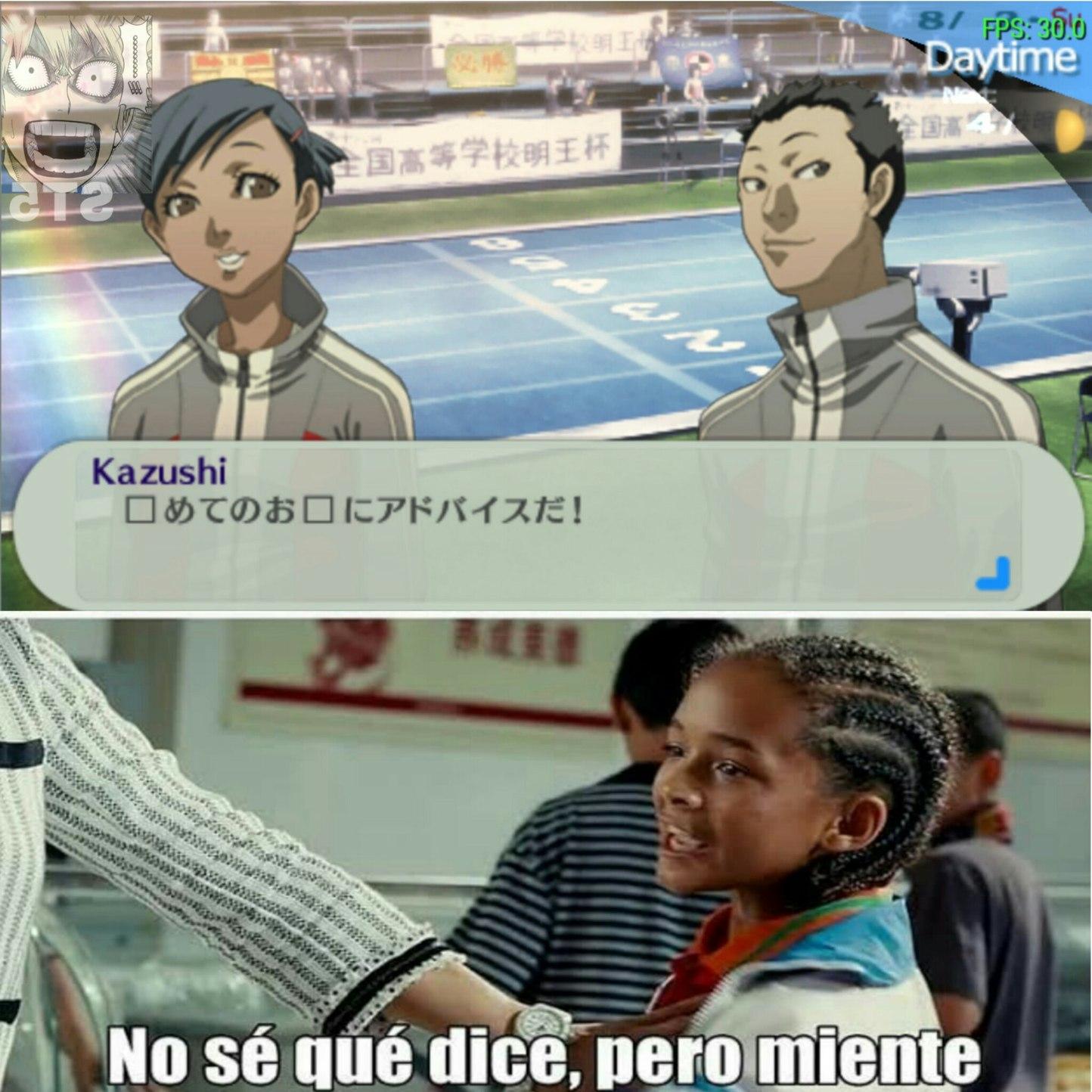 Persona 3 portable - meme