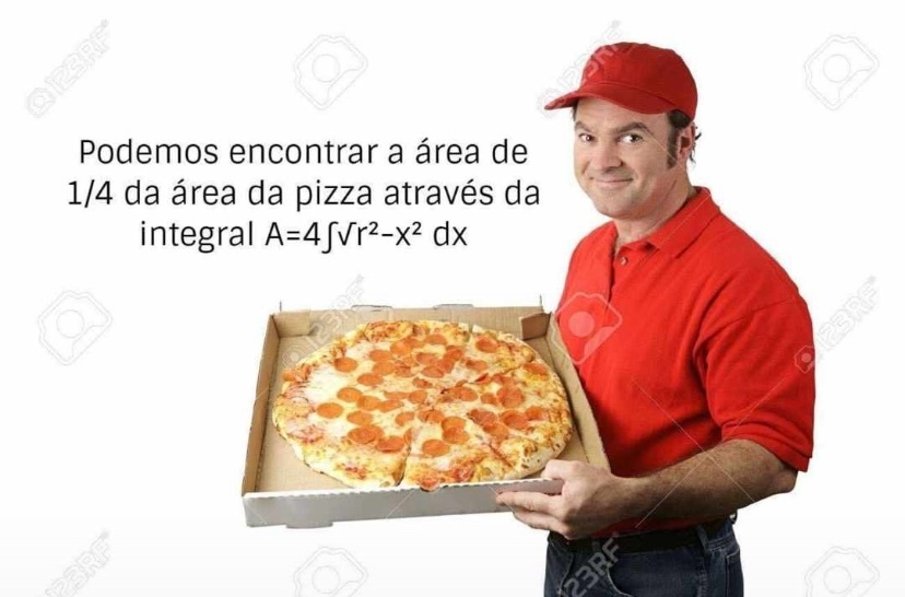 INTEGRADOR DE PIZZA - meme