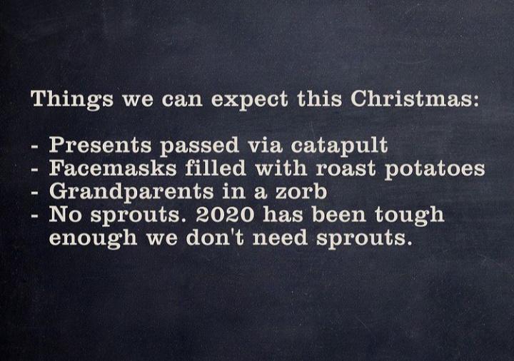 Christmas 2020 - meme
