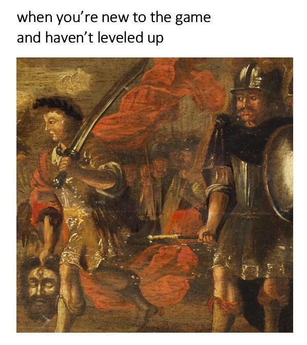 Stick to a Knife Fight - meme