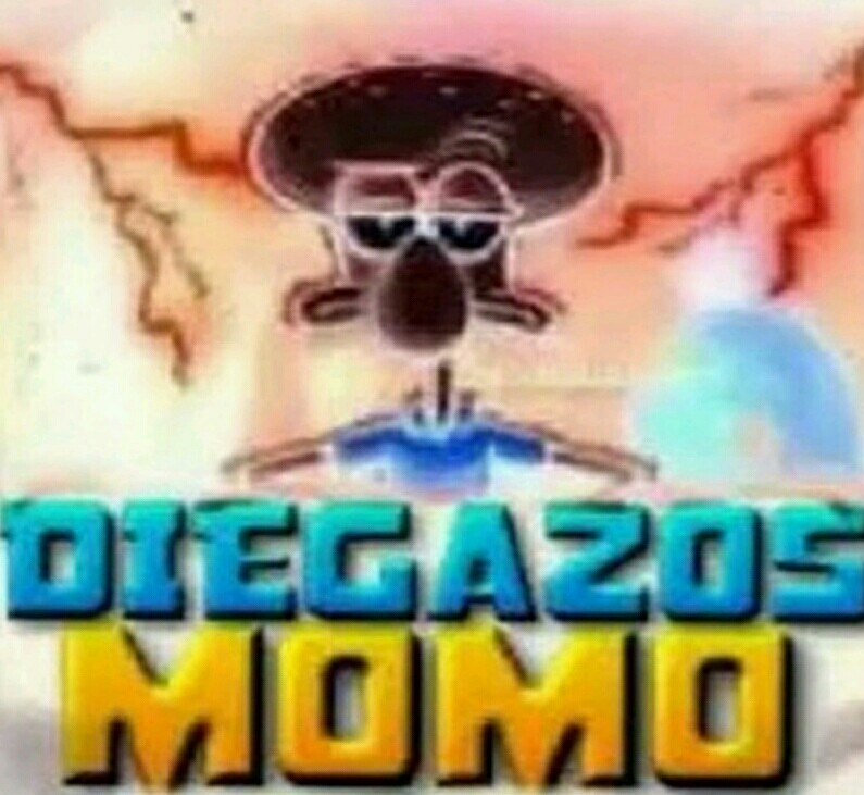 Diegazos momo - meme
