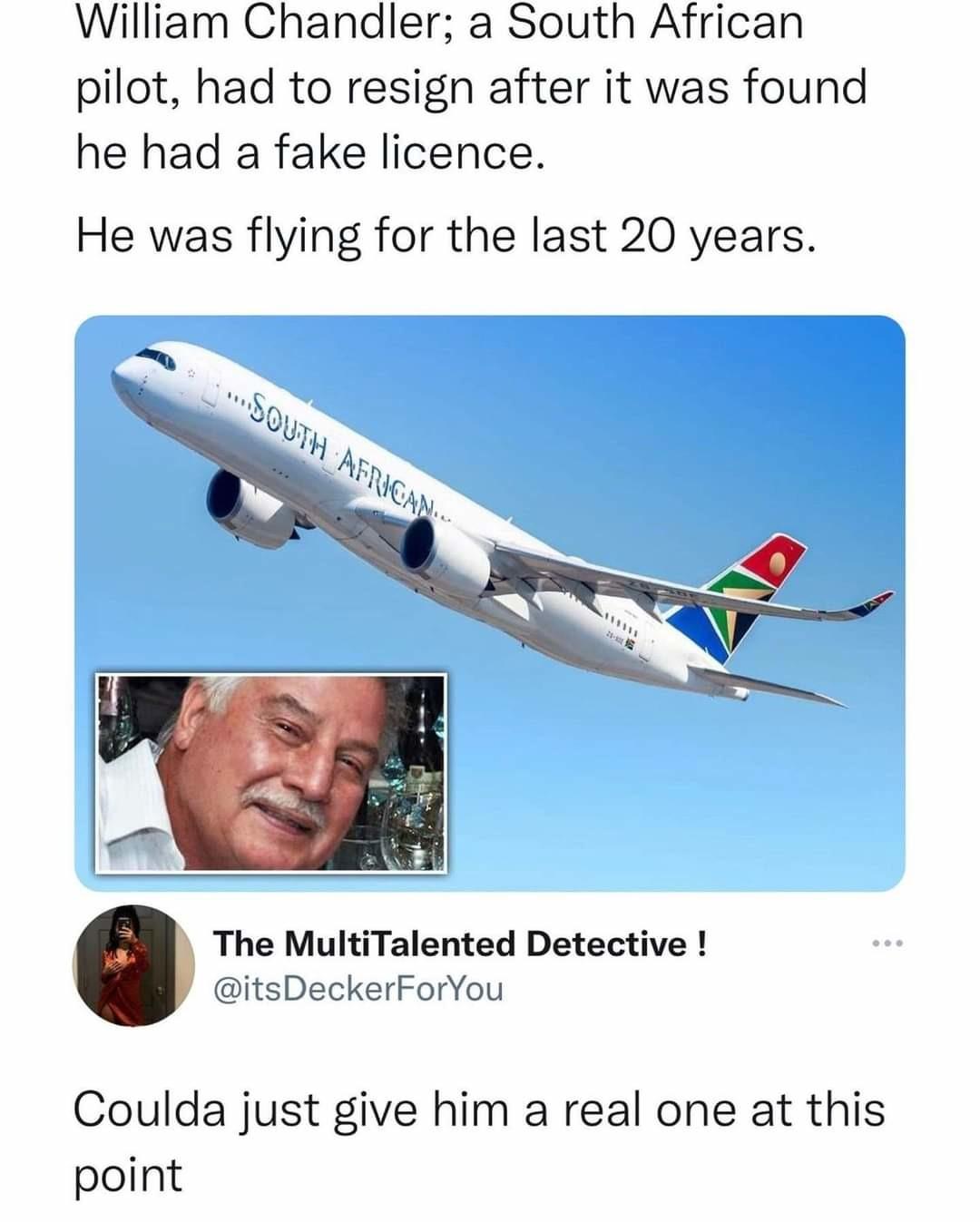 He flies solo.... - meme