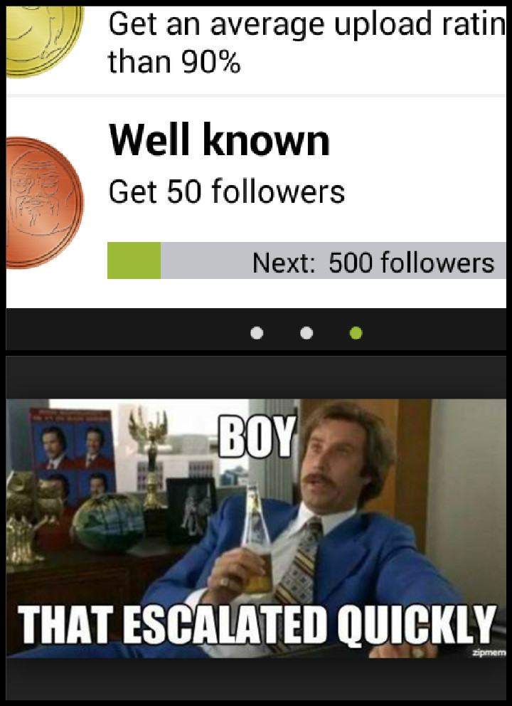 Im not worth that many followers :/ how does one get that many? - meme