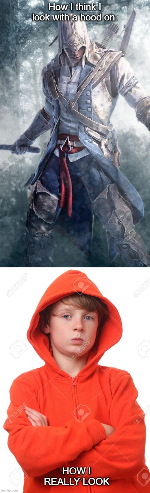 You're in the hood - meme