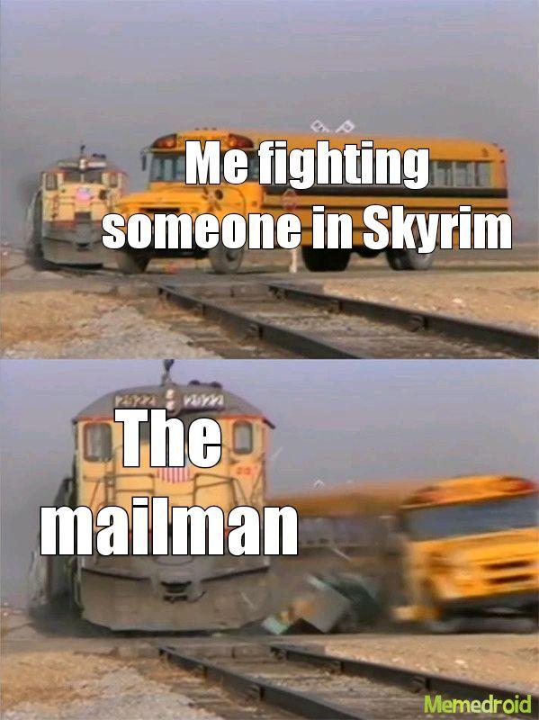 Skyrim days - meme