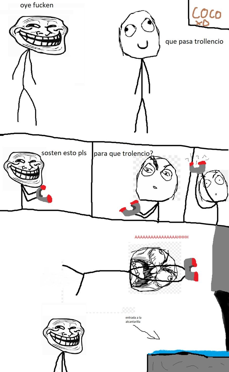 mi primer rage comic :D espero que les guste :) - meme