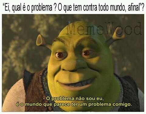 O mundo - meme