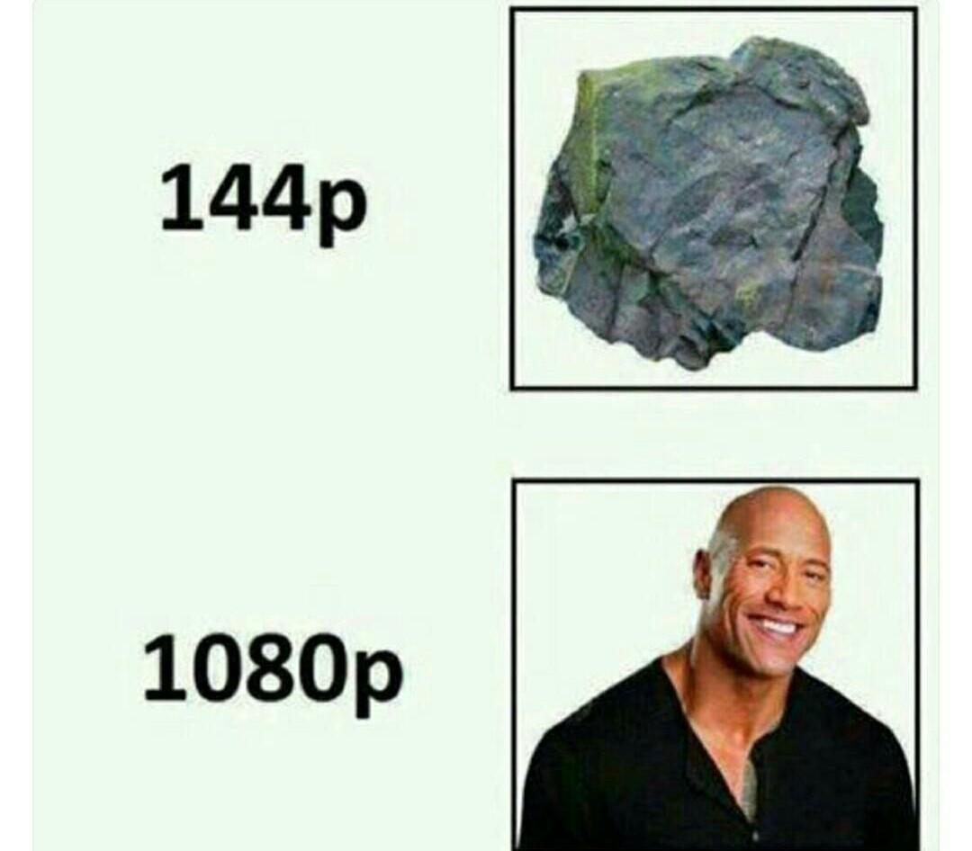 """Pourquoi on l'appelle """"The Rock"""" : - meme"""
