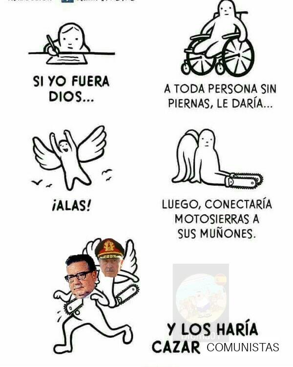 I need a Pinochet - meme