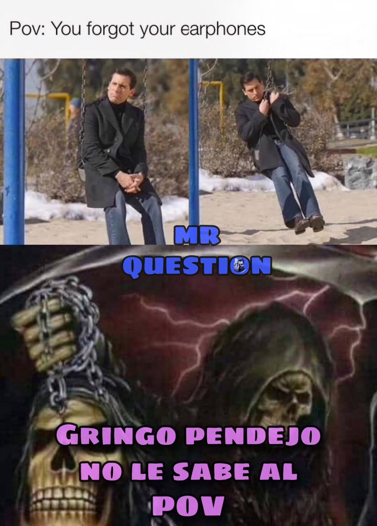 Gringos... - meme