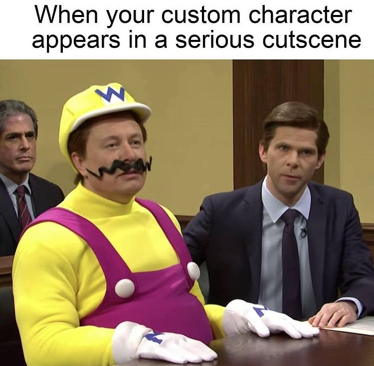 it's a me Elon musk wario - meme