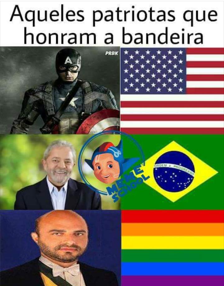 Luladrão roubou o Brazilzão - meme