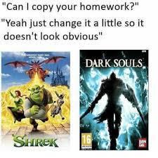 Do not copi my homework - meme