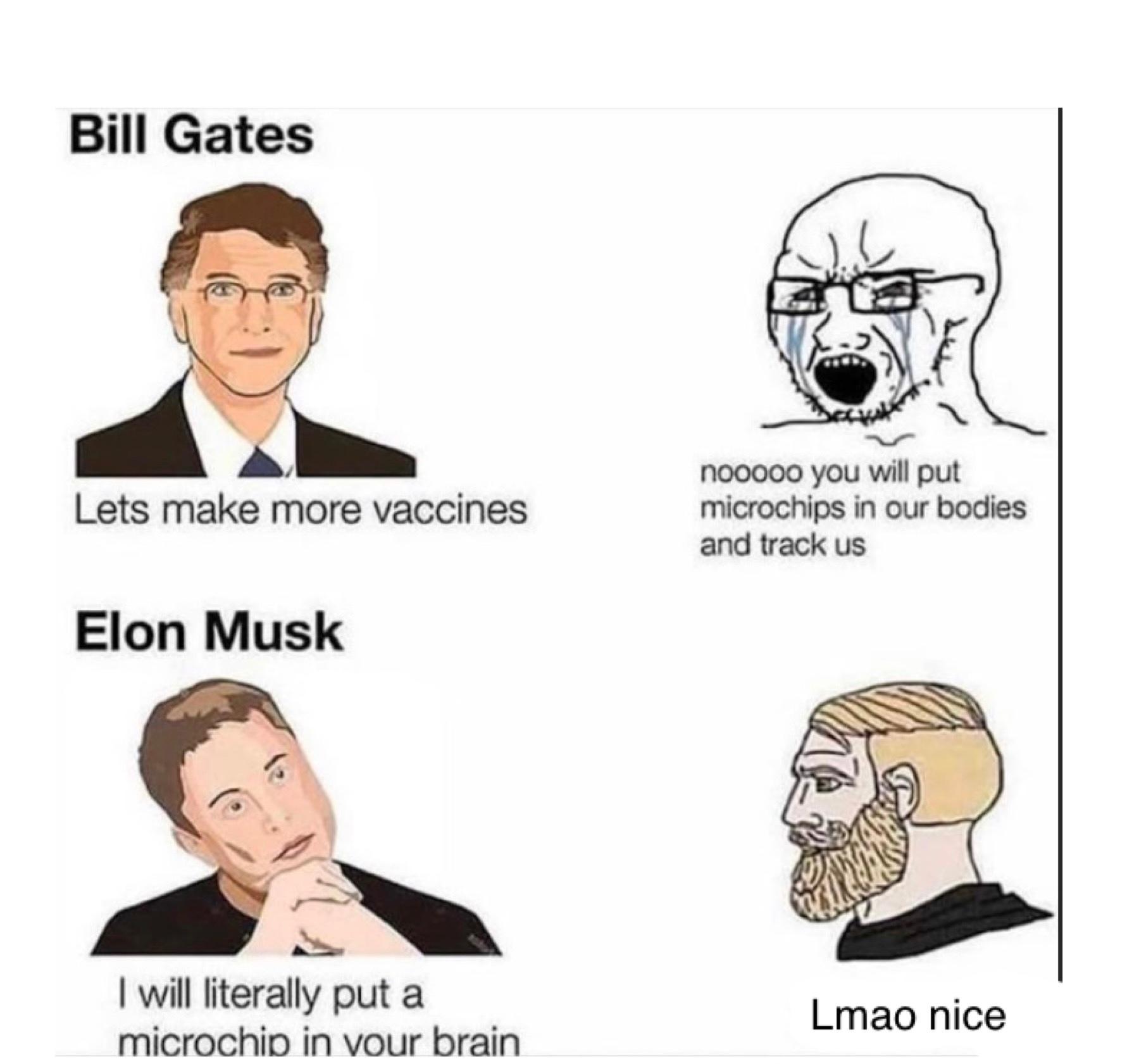 It's a plandemic - meme