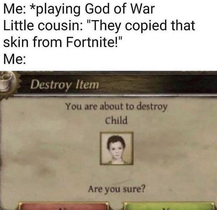 Yeetus yeetus, go commit deletus - meme