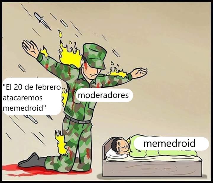 Mods entenderán, y para los que no, en moderación hay muchos pendejos diciendo eso - meme