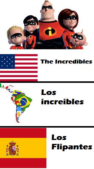 Los flipantes - meme