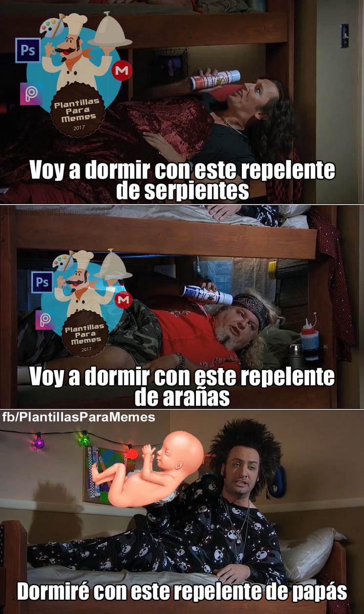 Repelente de padres - meme