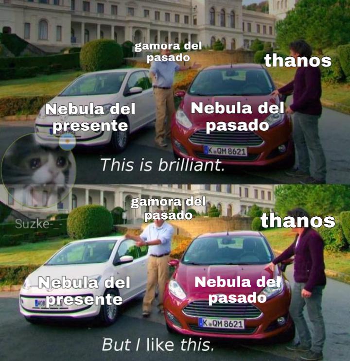 *Spoiler de endgame* - meme