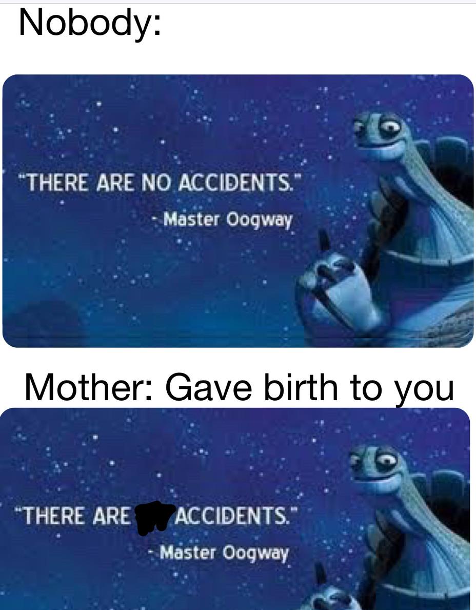 She gave birth 2 u - meme