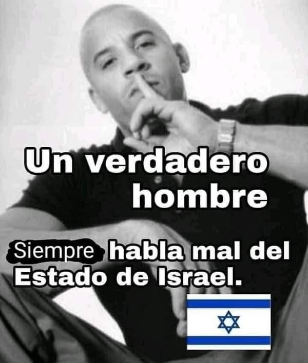 Odió Israel :no - meme