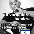 Odió Israel :no