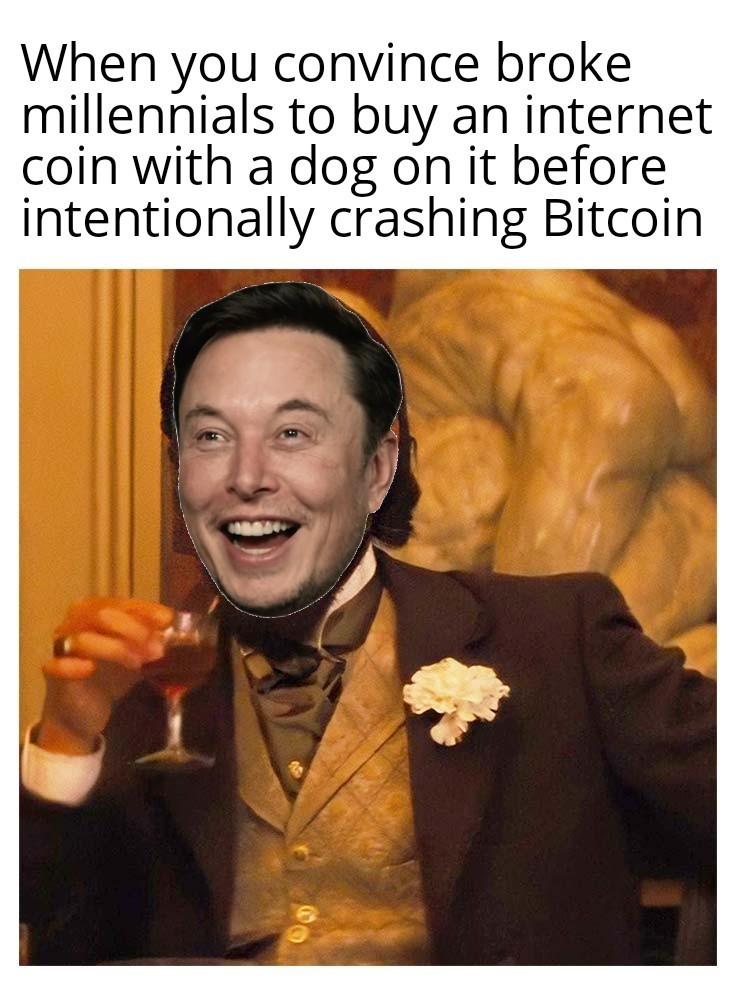 China didn't ban Bitcoin btw - meme