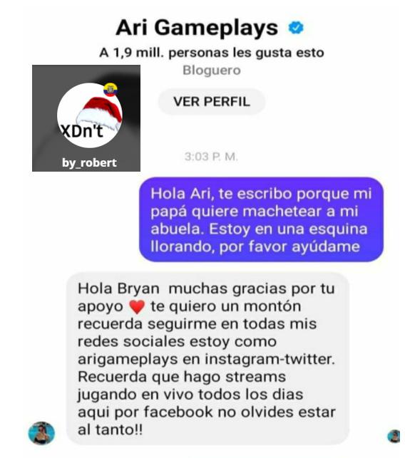 GRACIAS ARI - meme