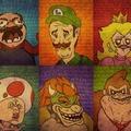 Les persos de Mario en meme