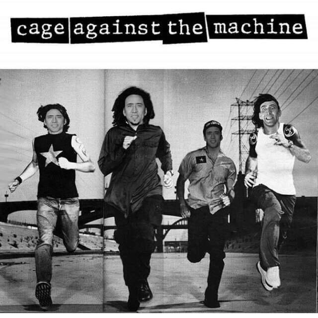 cage everywhere - meme