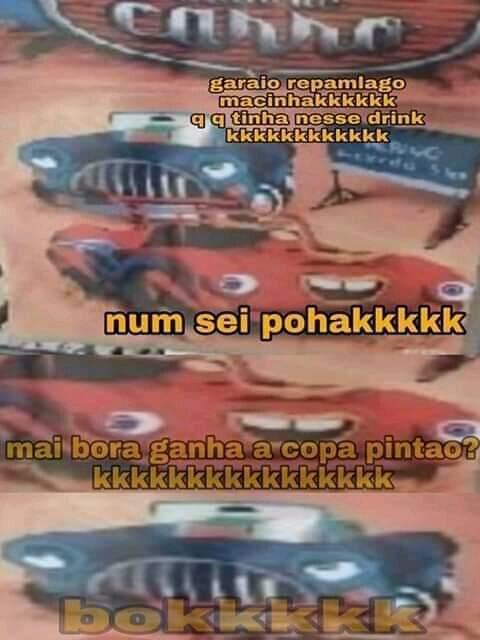 Copa pintão - meme
