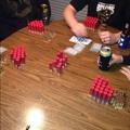 Bet: +5 12ga.|Fold|Call|Raise: +2 12ga. +7 5.56|Fold|Fold|Fold|Player 4 Wins 15 12ga.,7 5.56, 12 9mm hollowpoints!