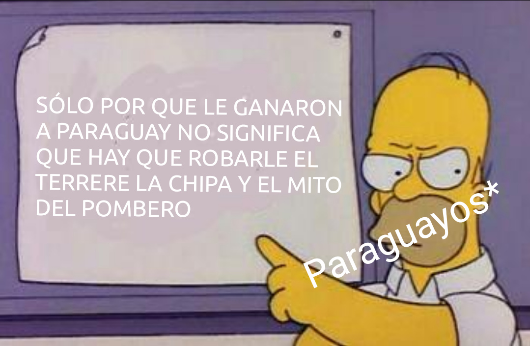 Los paraguayos lo entenderan - meme