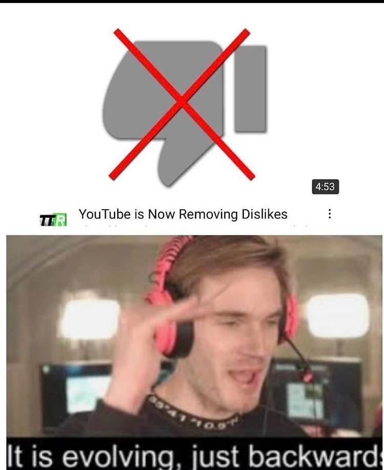 why YouTube - meme