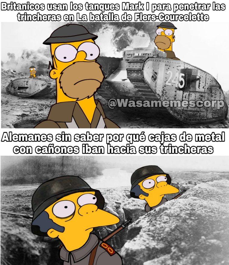 Momos de la Gran Guerra - meme
