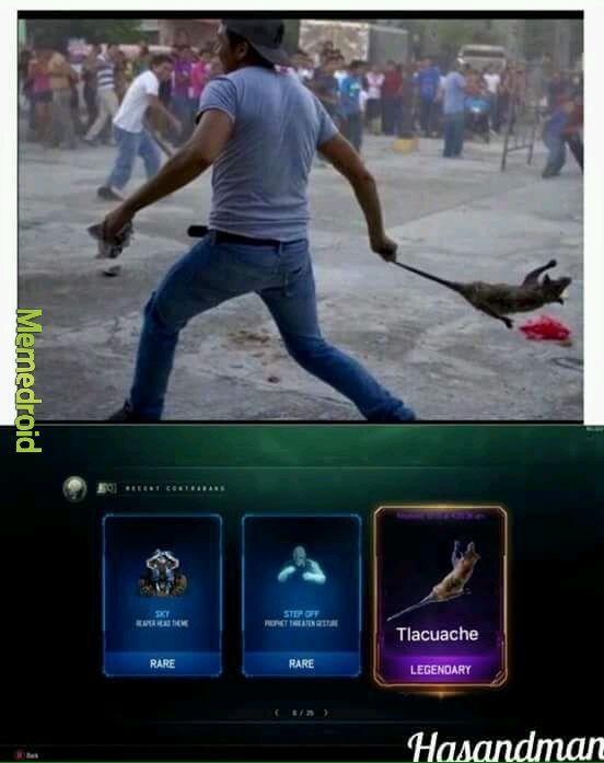 La arma especial - meme
