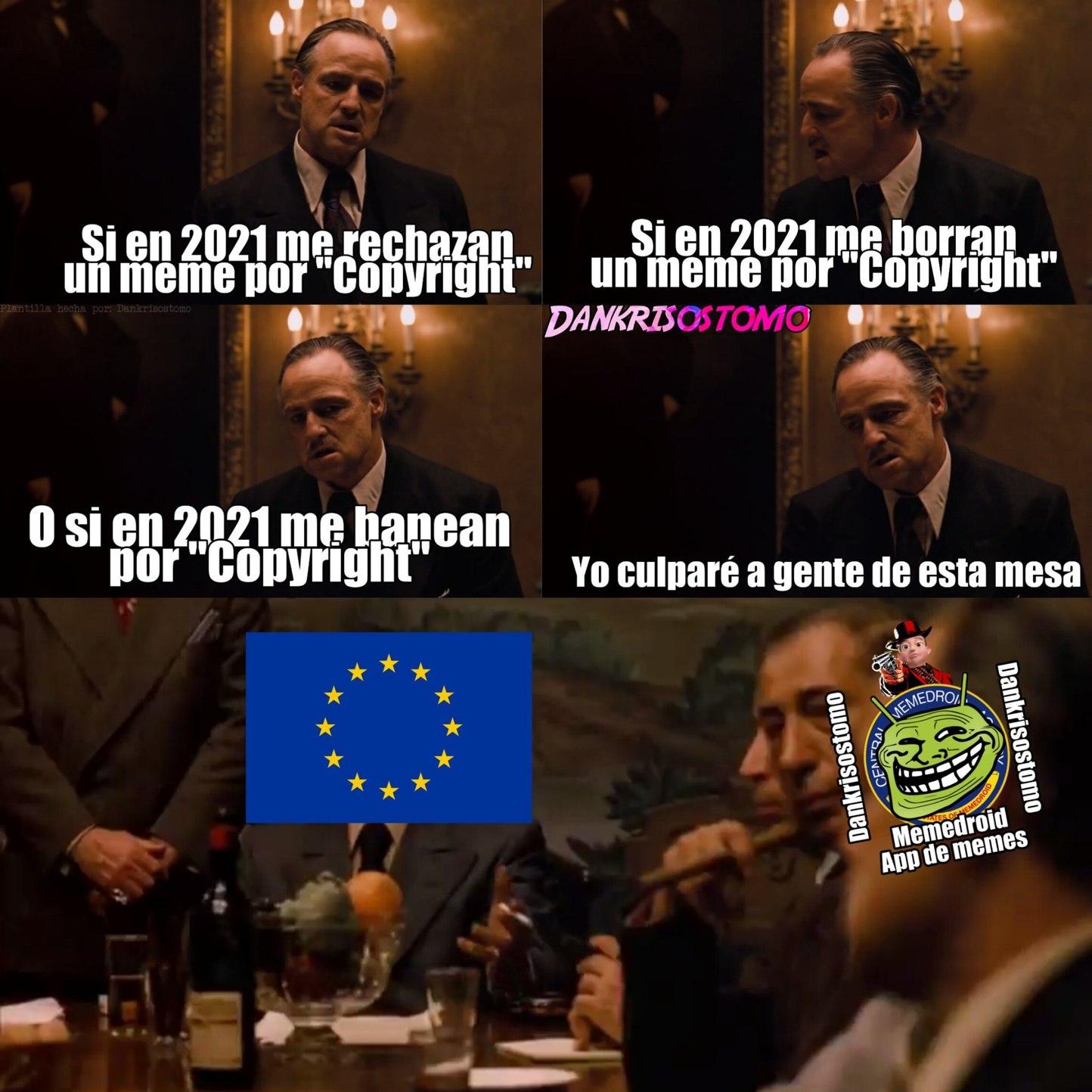Por si no entienden, el artículo 13 se aceptará en 2021. - meme