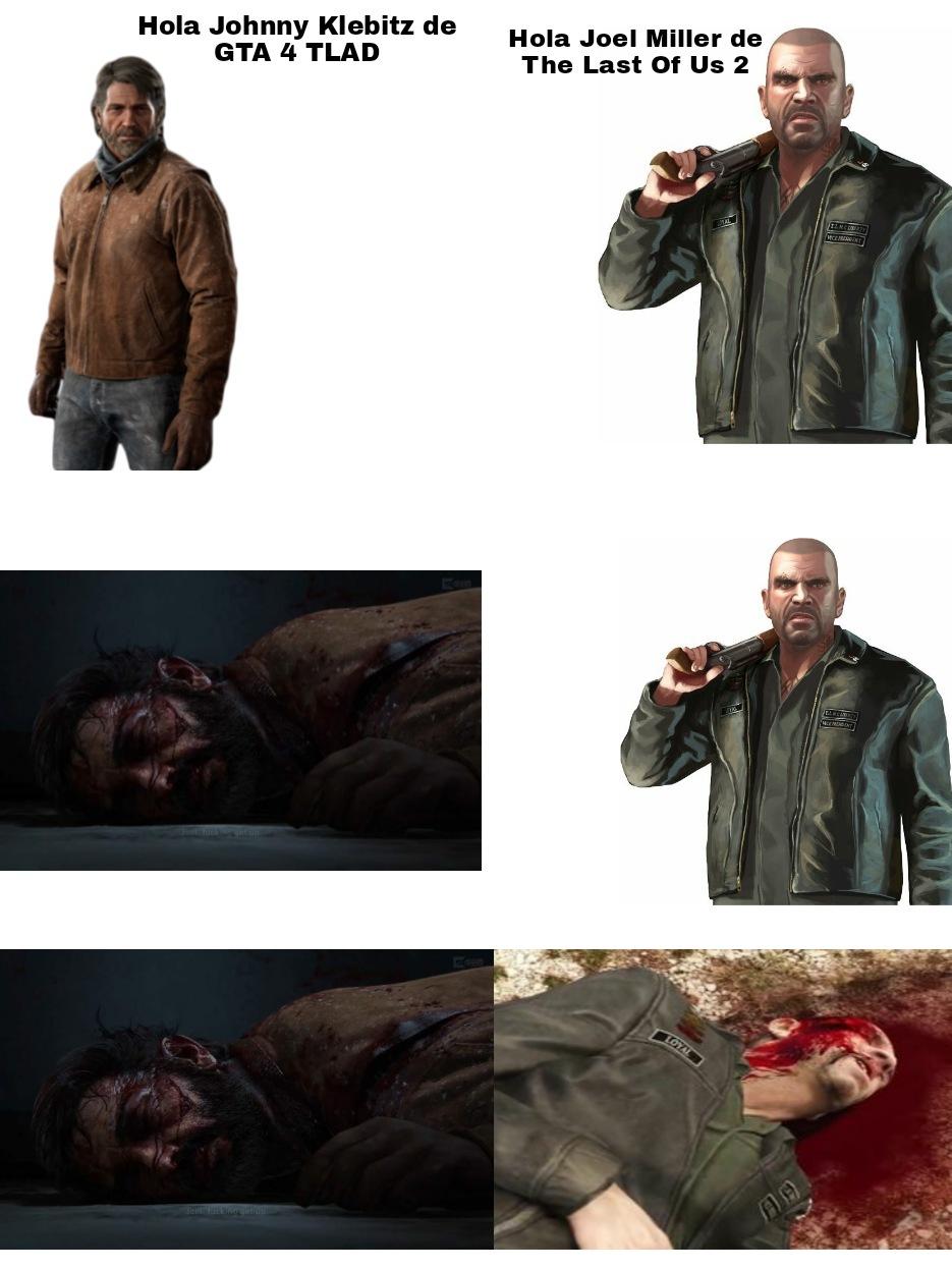 Grandes personajes, Estupidas muertes - meme