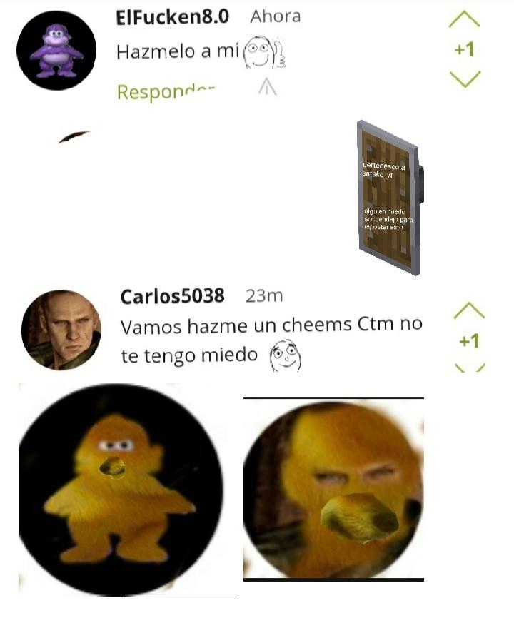 Cheemsificaciones listas - meme