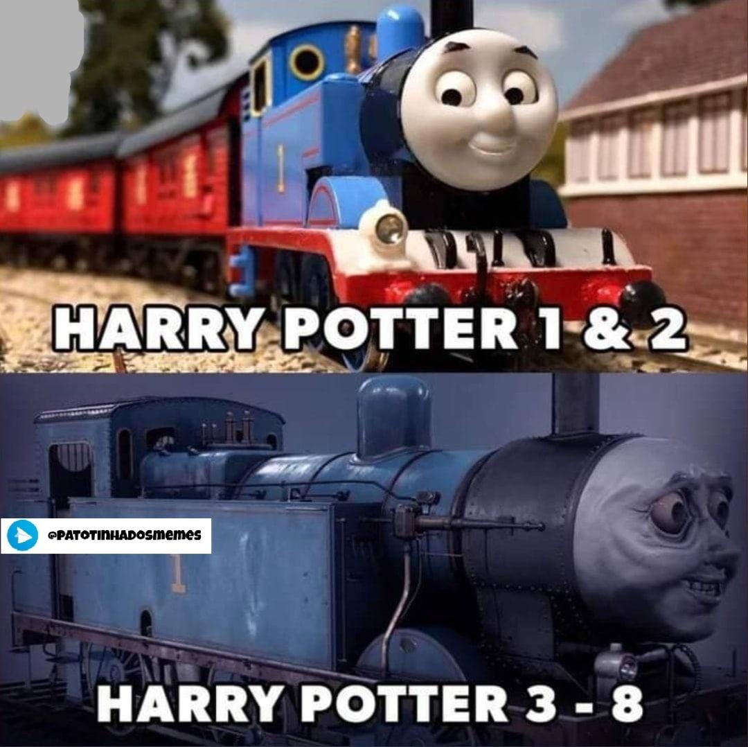 Harry potter - patotinhadosmemes