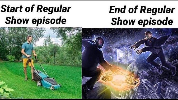 regular show - meme
